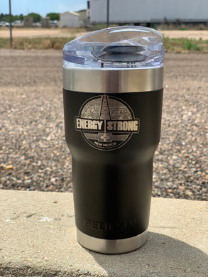 Energy Strong New Mexico - Pelican Laser Engraved Tumbler