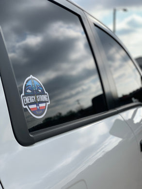 Energy Strong Texas Truck Decal