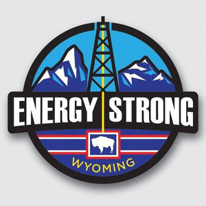 Energy Strong Wyoming Decal