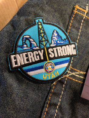 Energy Strong Utah - Iron On Patch