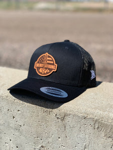 Energy Strong USA - Leather Patch Hat