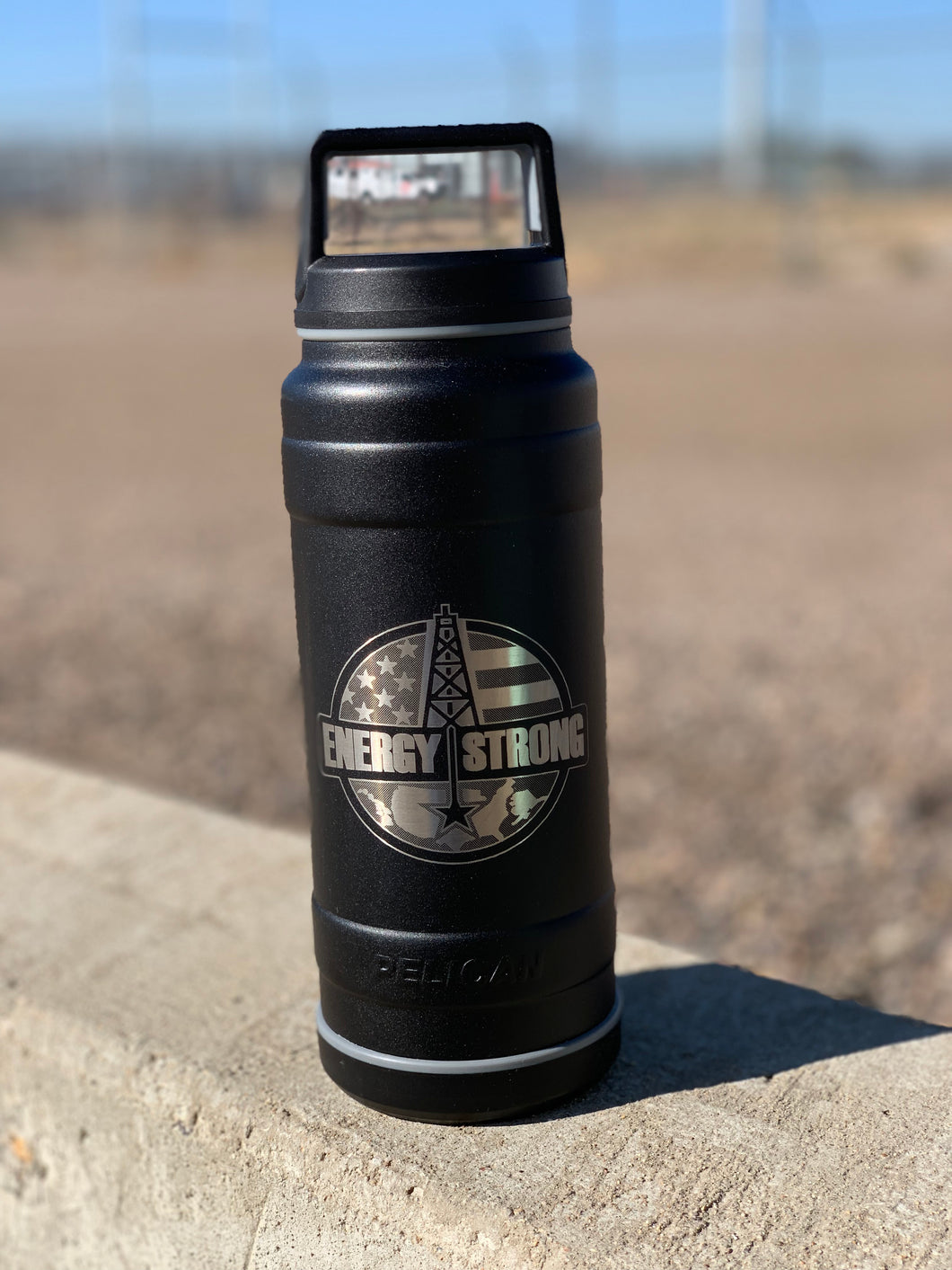 Energy Strong USA - Pelican Laser Engraved Bottle