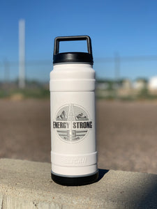 Energy Strong Wyoming- Pelican Laser Engraved Bottle