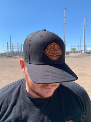 Energy Strong Wyoming - Leather Patch Hat