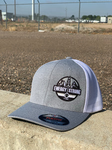 Energy Strong Utah - Flexfit 6311 Heather Black w/Blacked Out Logo