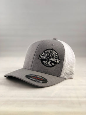 Energy Strong Louisiana - Flexfit 6311 Heather Black w/Blacked Out Logo