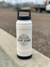 Load image into Gallery viewer, Energy Strong North Dakota - Pelican Laser Engraved Bottle