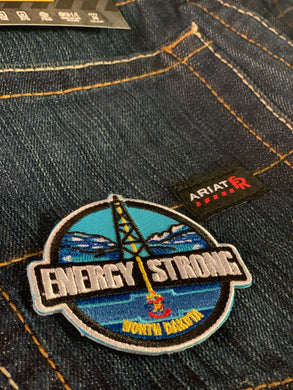 Energy Strong North Dakota - Iron On Patch