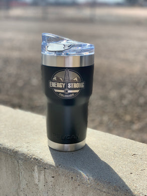 Energy Strong Colorado - Pelican Laser Engraved Tumbler