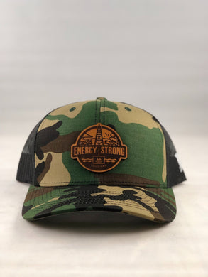 Energy Strong Louisiana - Leather Patch Hat