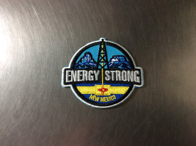Energy Strong New Mexico - Iron On Patch