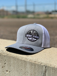 Energy Strong New Mexico - Flexfit 6311 Heather Black w/Blacked Out Logo