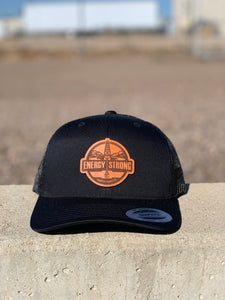 Energy Strong North Dakota - Leather Patch Hat
