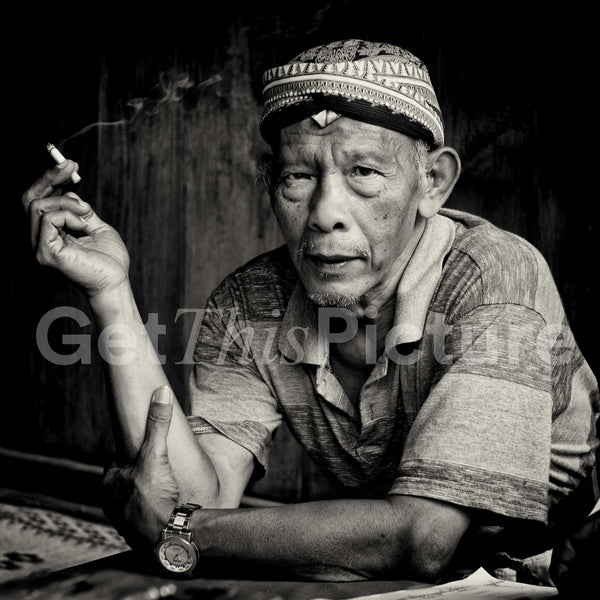 Indonesian man