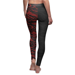 Women's R & B Tiger Camo Yoga Leggings