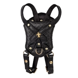 Black Sparkle Harness