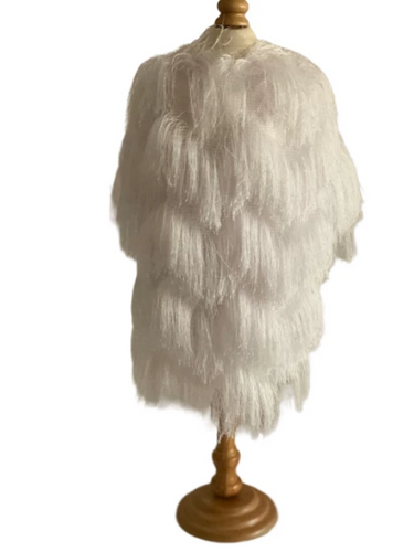 Fringe Jacket- White