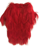 Load image into Gallery viewer, Fringe Jacket - Red