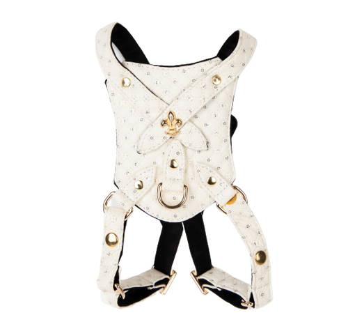 White Sparkle Harness