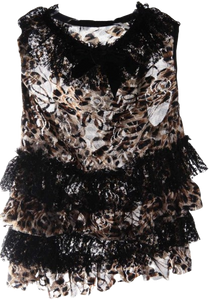 Animal Print Dog Dress