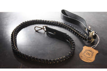 Load image into Gallery viewer, Handmade Braided Dog Leashes - Black/Ivory