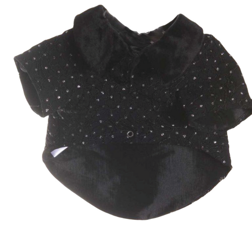 Black Rhinestone Jacket