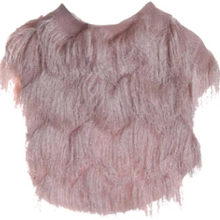 Load image into Gallery viewer, Fringe Jacket - Blush