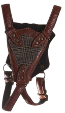 Load image into Gallery viewer, Hunting Game Harness For Dogs - Brown