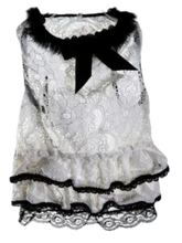 Load image into Gallery viewer, Lace Dress For Girl Dogs | White Dress