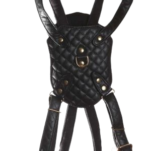 Black  Quilt Harness