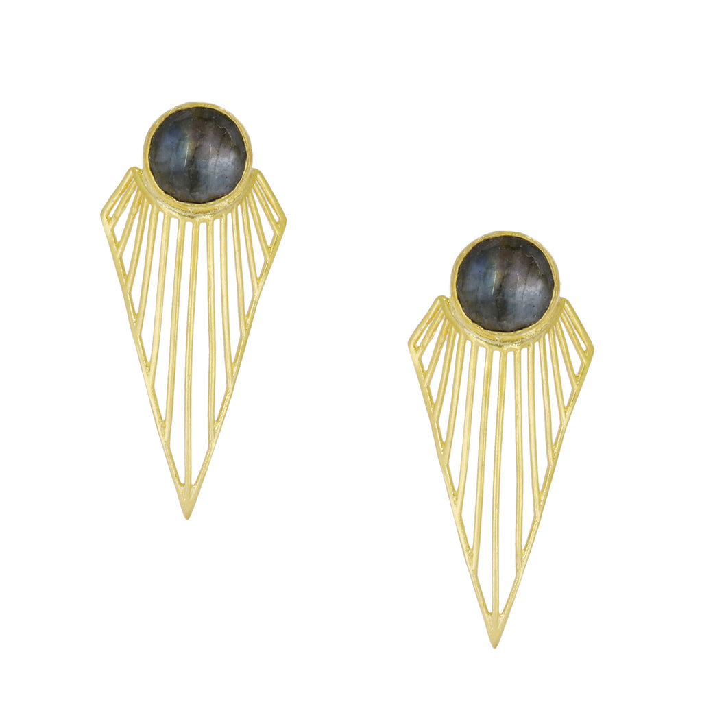 NYHET Øredobber Chrysler Statement Earrings