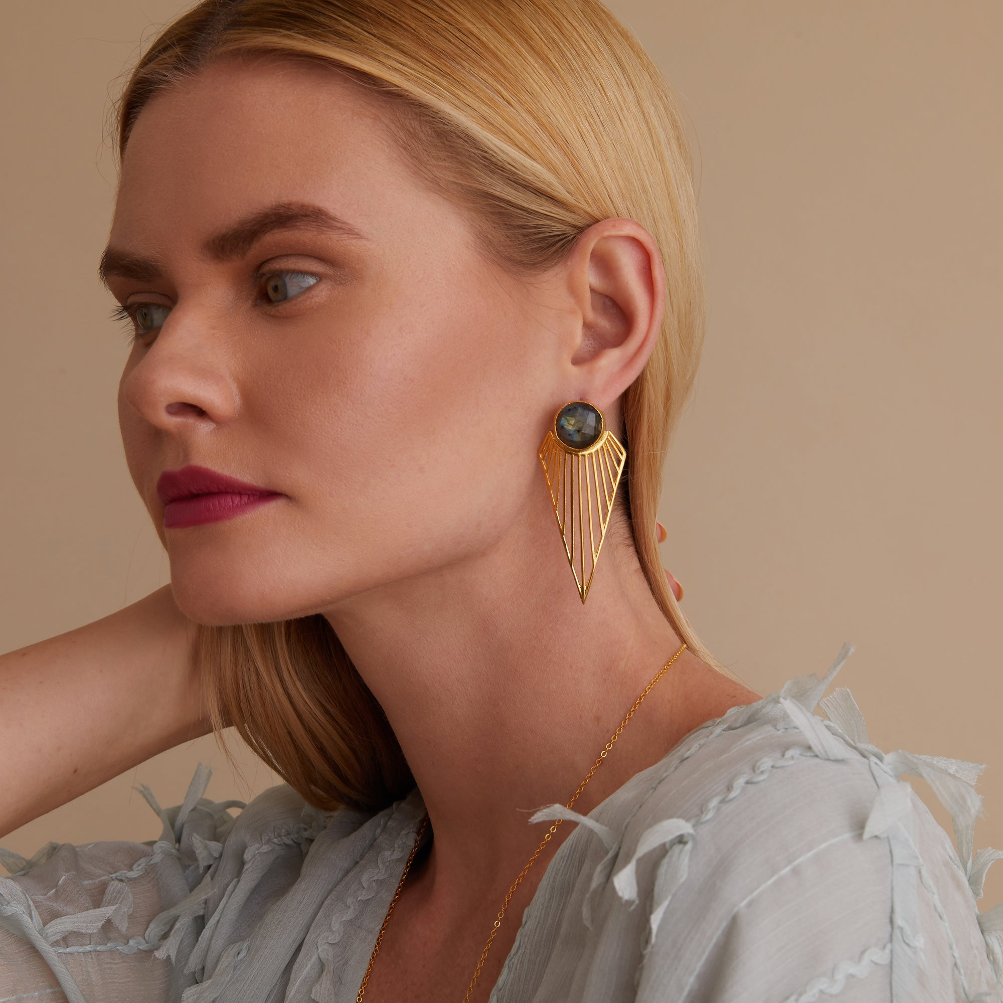 Øredobber Chrysler Statement Earrings
