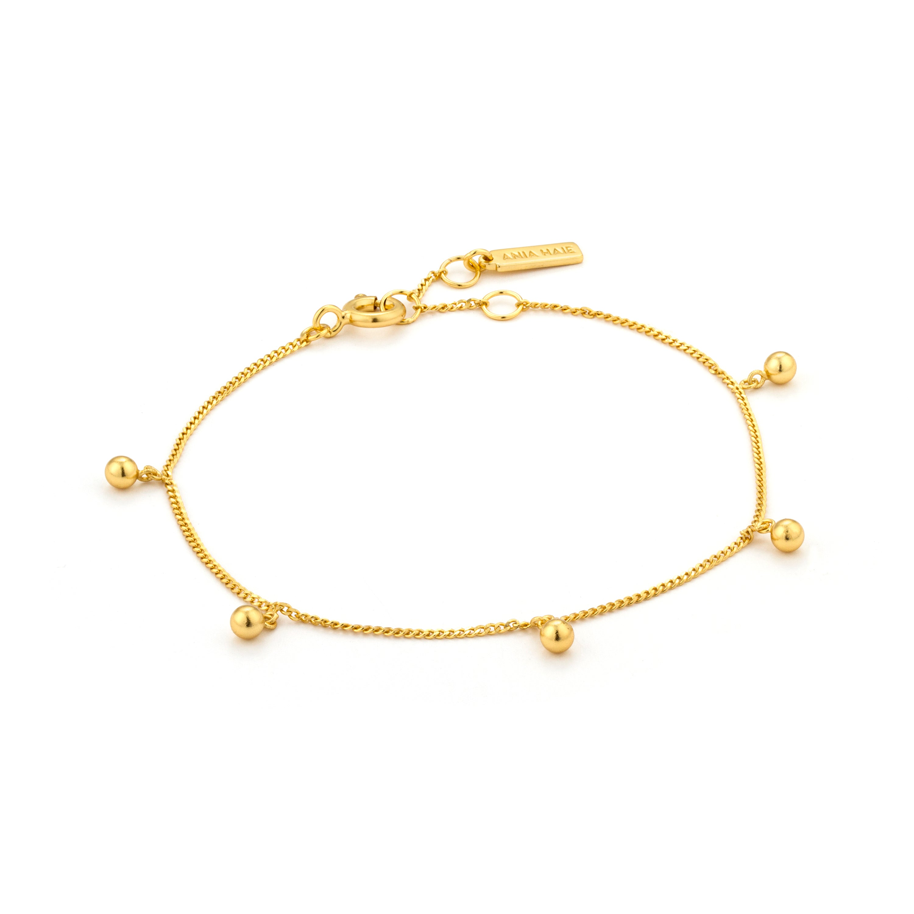 Armbånd Beaded Gold
