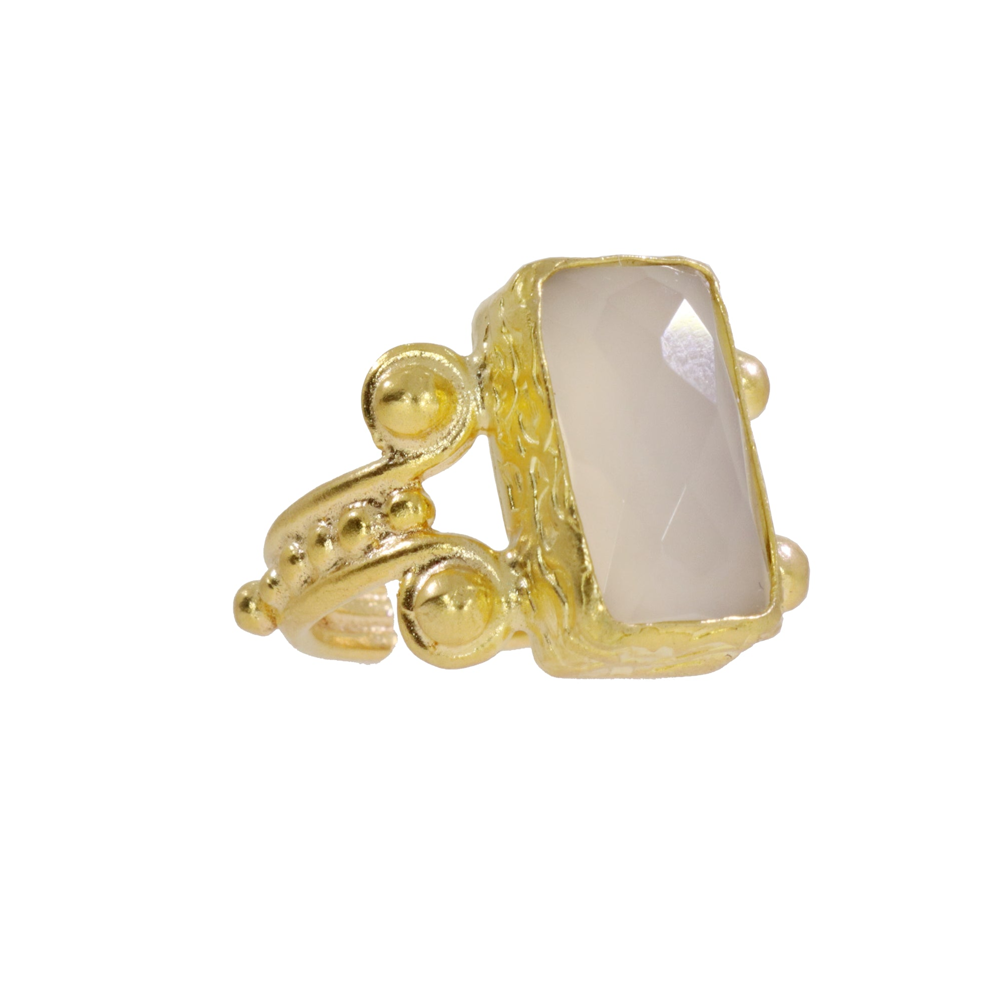 Ring Pantea Cocktail Chalcedony