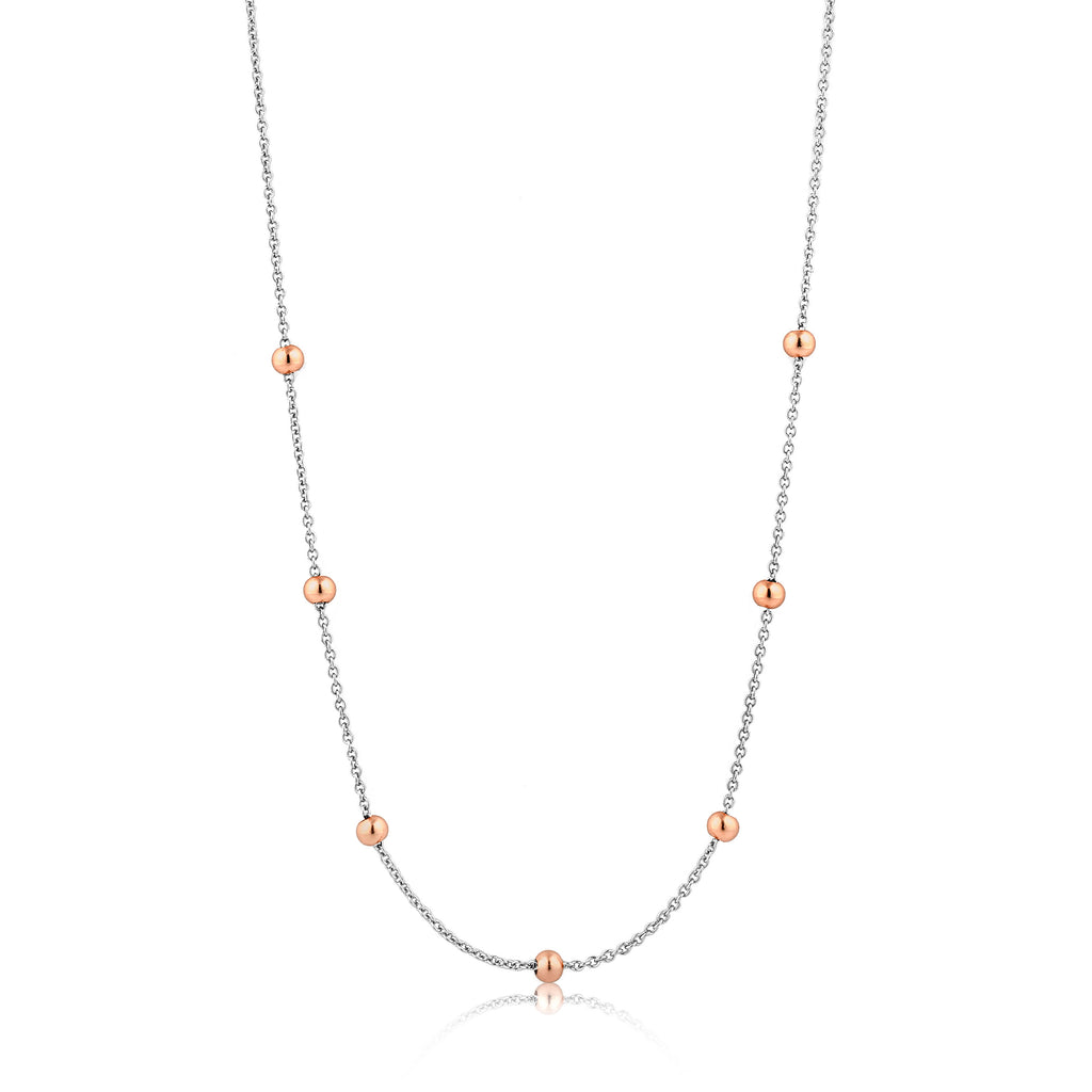 Smykke Beaded Chain Rose