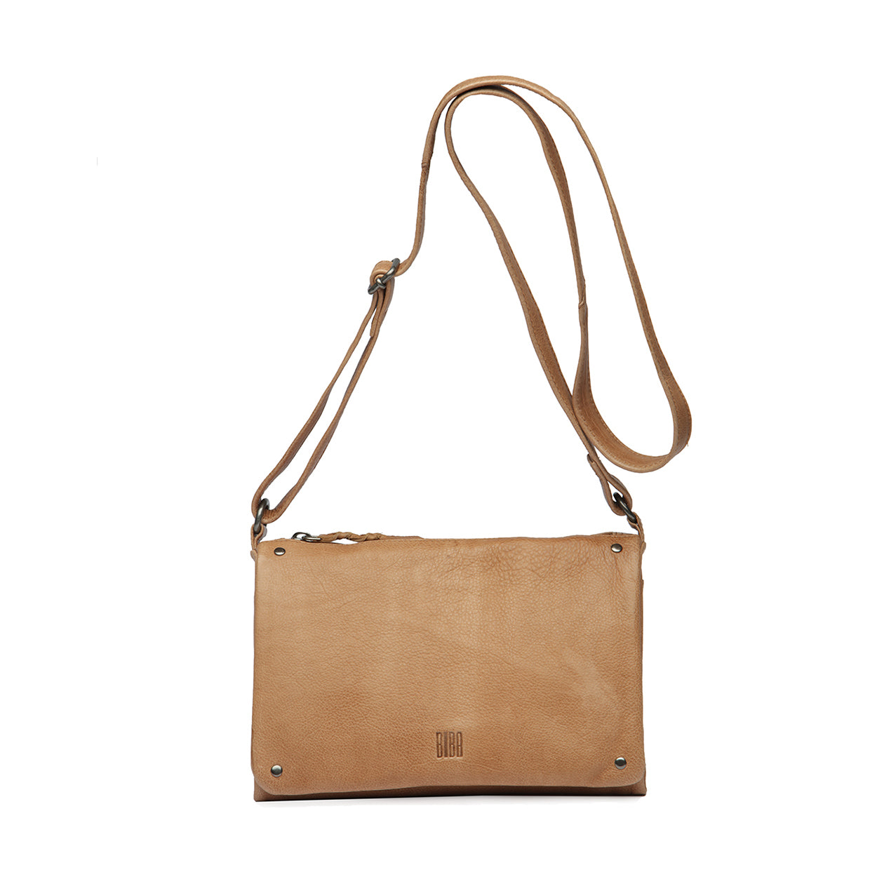 Veske Natalia. Cross Bag, medium. Tan