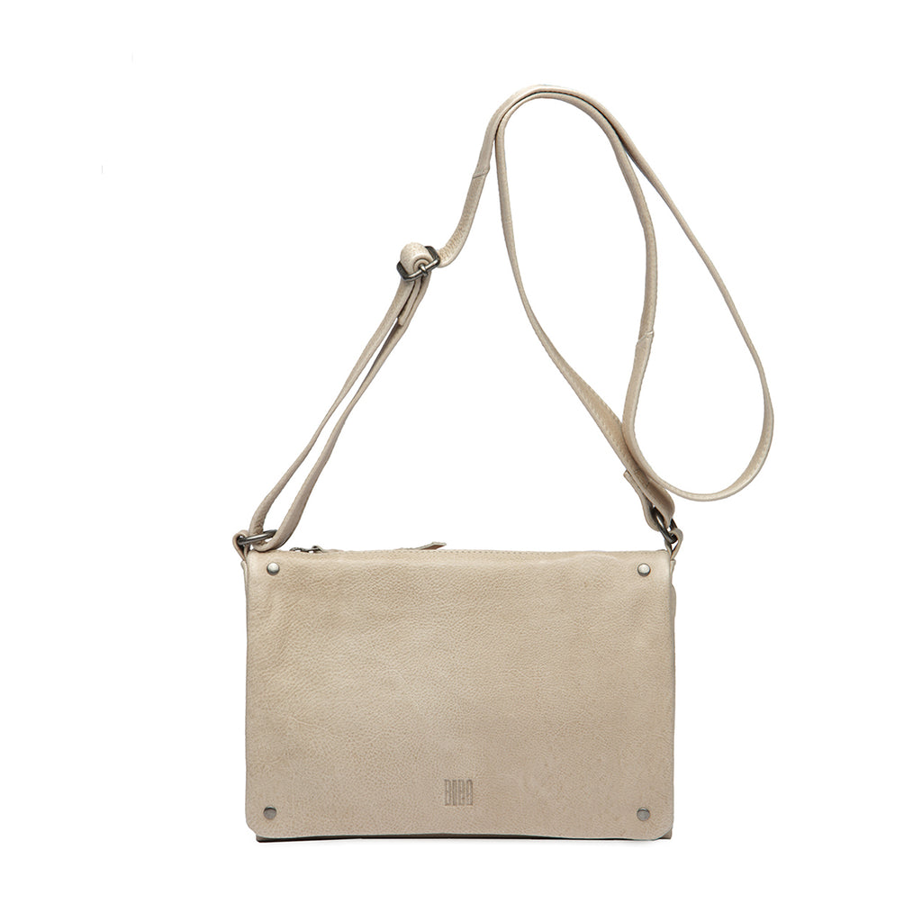 Veske Natalia. Cross Bag, medium. Cream