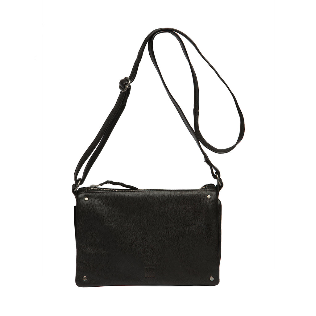 Veske Natalia. Cross Bag, medium. Black