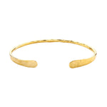 Armbånd Open Gold Bangle
