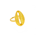 NYHET Ring Cowrie Shell