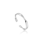 NYHET Ring Helix Thin Silver