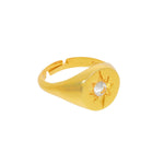 Ring Shining Star Signet