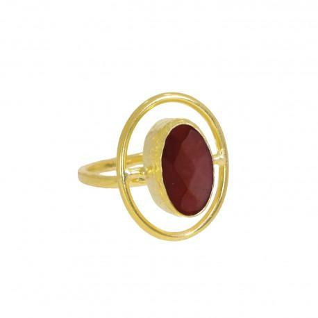Ring Moholy Red Agate