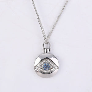 Crystal Blue Eye  Pendant
