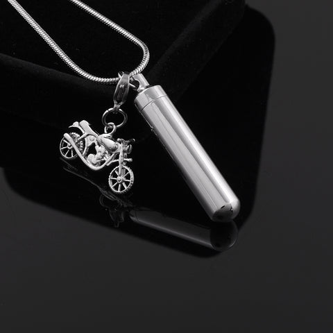 Motorcycle Cylinder Charm
