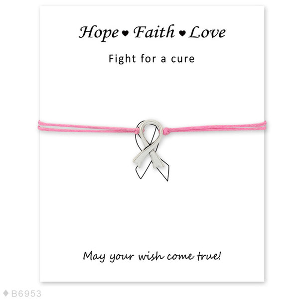 Hope Faith Love and Make A Wish Bracelets