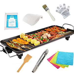 Electric Barbecue Grill Aluminum-magnesium alloy Thermal Cookers 220V 1400W Kitchen Appliance #06522000