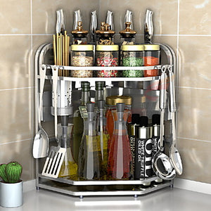 Stainless Steel Easy to Use Creative Kitchen Gadget Cookware Holders 1pc Kitchen Organization #06495770