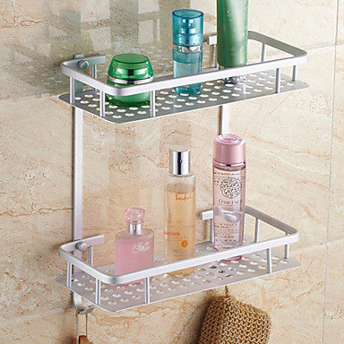 Bathroom Shelf Contemporary Aluminum 1 pc - Hotel bath #00795048