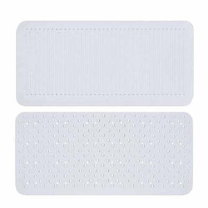1pc Modern Bath Mats PVC(PolyVinyl Chloride) / ABS+PC Geometric Rectangle Non-Slip #06729701